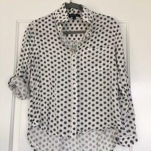 Button Down Printed Shirt
